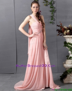 2015 Long Sweetheart Mother of Bride Dresses with Watteau Train