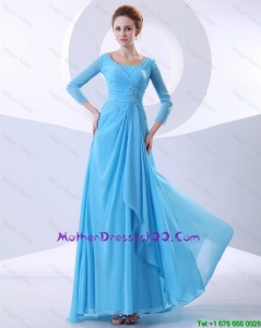 Gorgeous Beading Aqua Blue Prom Dresses in 2016