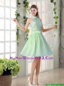 2016 Discount Mother of The Bride Dresses with High Neck
