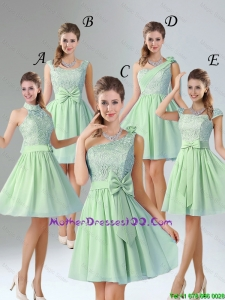 Romantic Short Mothers Dresses with Hand Made Flower for Wedding Party