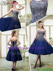 Luxurious Sweetheart Beading Mother Dresses for 2016