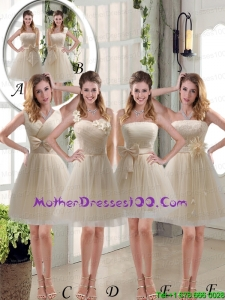 Beautiful Mini Length Lace Mother of the Bride Dresses with Bowknot