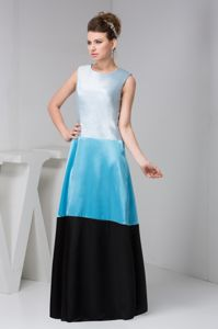 New Bateau Sleeves Ankle-length Mother of the Bride Dresses in Multi-color