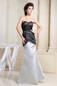Black and Grey Custom Made Mother of Bride Dress Sweetheart