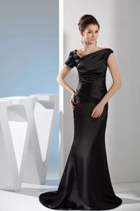 Mermaid Black Mother of the Bride Dresses for Formal Prom with Appliques
